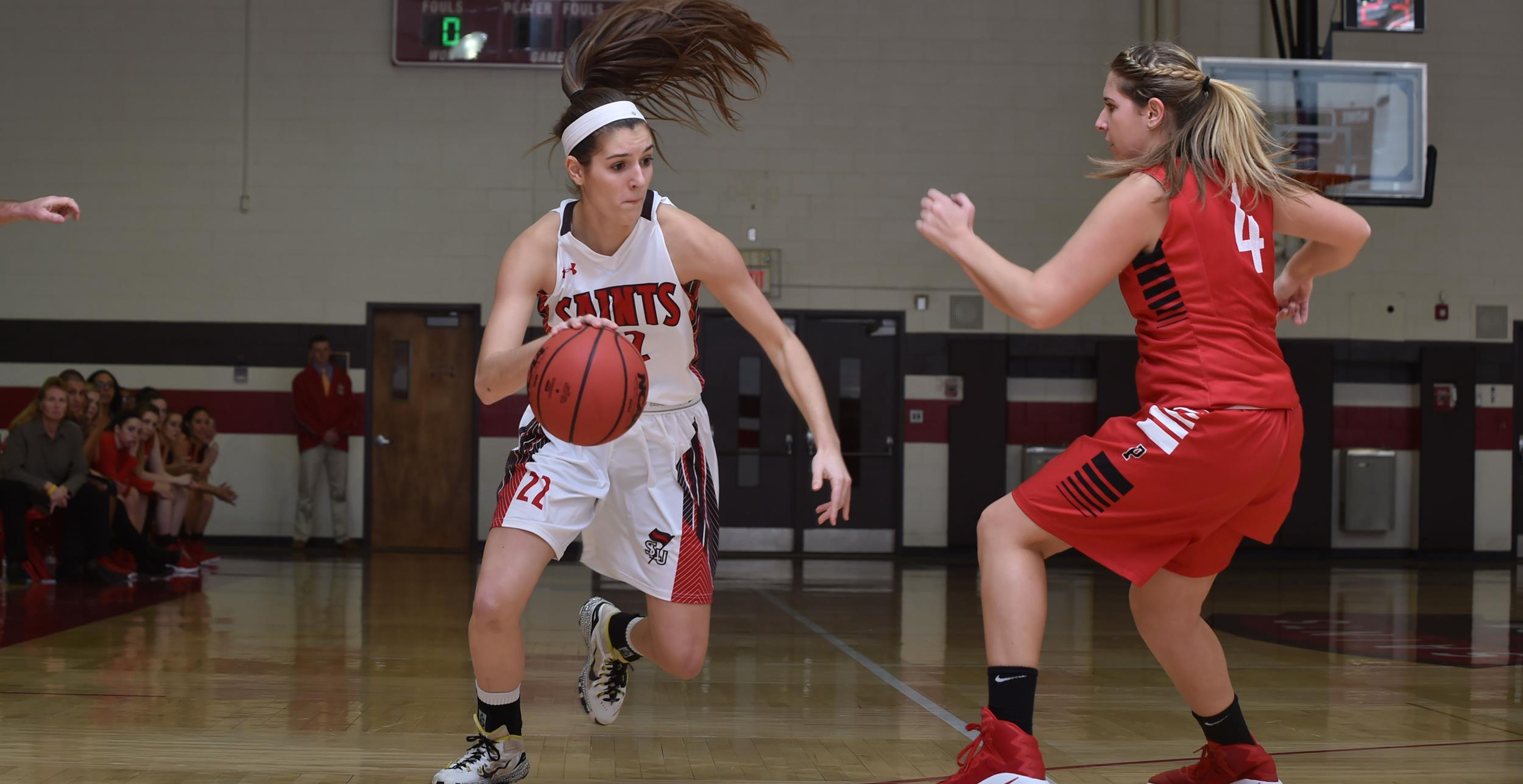 Womens basketball downs no 22 ithaca st lawrence university publicscrutiny Choice Image